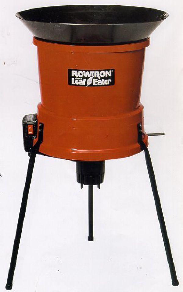 Flowtron LE-800 Leaf Eater Mulcher shredder. Turn Yard Waste into Mulch or Compost - Just Shred and Spread!